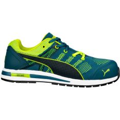 Σκαρπινια Elevate Knit Green Low Puma Safety 643170